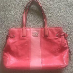 Coach Chelsea purse coral color